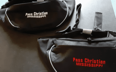Hip Pack with Pass Christian, Mississippi embroidered